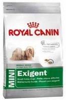 **Корм для привередливых собак мелких пород от 10 месяцев Роял Канин Мини Эксиджент 0,8кг.
