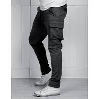 Мужские спортивные штаны с карманами карго