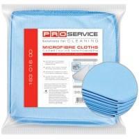 Салфетка из микрофибры для стекол PRO Service 35*35 5шт/уп