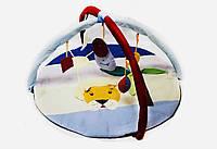 """Игровой коврик-манеж для новорожденных """"Лев""""."""