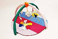 """Игровой коврик-манеж для новорожденных """"Цветик семицветик""""."""