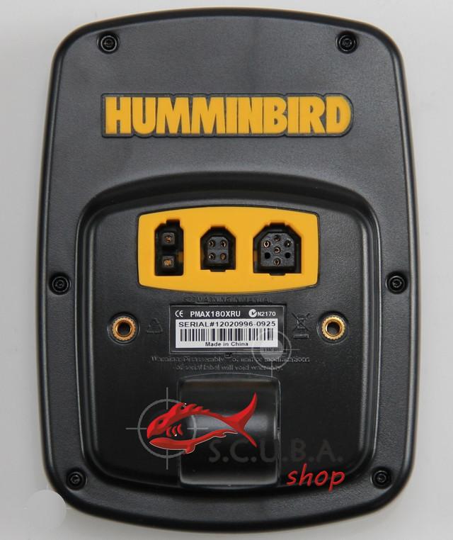 установка эхолота humminbird 180