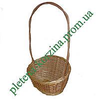 Плетеная Корзинка для подарков и цветов оптом от производителя Арт.257