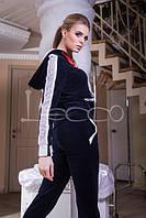Спортивный костюм Велюр со стразами