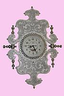 Часы настенные с серебрением