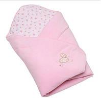 Конверт - одеяло для новорожденных на выписку №3 велюр Womar (70 х 70 см)