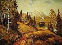 Картина из янтаря. Пейзаж 9