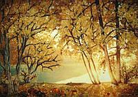 Картина из янтаря. Пейзаж 11