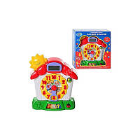 Детская обучающая интерактивная игрушка Часы 7007 Joy Toy