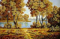 Картина из янтаря. Пейзаж 19