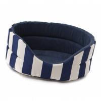 Aquael Comfy Marine лежак для собак и кошек синий 46x42x18см