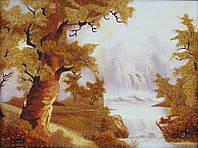 Картина из янтаря. Пейзаж 26