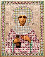 """""""Св. Иоанна Мироносица"""".  Схема для вышивки бисером."""
