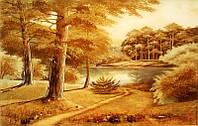 Картина из янтаря. Пейзаж 28