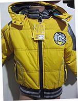 Модная демисезонная куртка для мальчиков