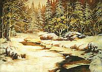 Картина из янтаря. Пейзаж 32