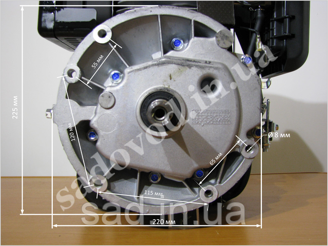 Воздушный фильтр двигателя Sadko GE-160V