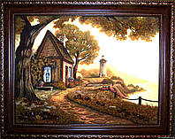Картина из янтаря. Пейзаж 37