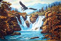 Картина из янтаря. Пейзаж 42