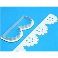 Вырубка кондитерская для мастики бортик ажурный(код 00652)