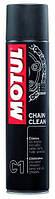 Обезжириватель и очиститель цепи мотоцикла MOTUL C1 CHAIN CLEAN (400ML)