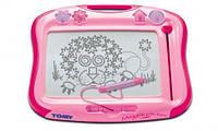 Доска для рисования (розовая)