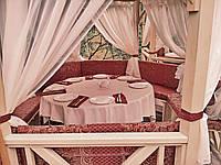 Мебель и текстиль в беседку