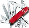 Складной удобный нож Victorinox Ranger 13763 красный