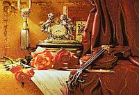 Картина из янтаря. Панно 56