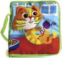 Развивающая игрушка для малышей «Книжечка о котенке»