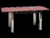 Стол стеклянный GD-017 Signal красный