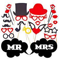 Бутафория для фотосессии: Мистер и Миссис