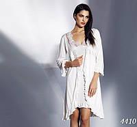 Бамбуковая ночная сорочка + халат Mariposa 4410