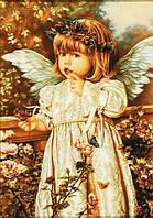 Икона из янтаря для детской комнаты.