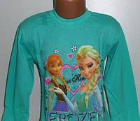 Реглан Джемпер для девочки Frozen хлопок, 6 лет