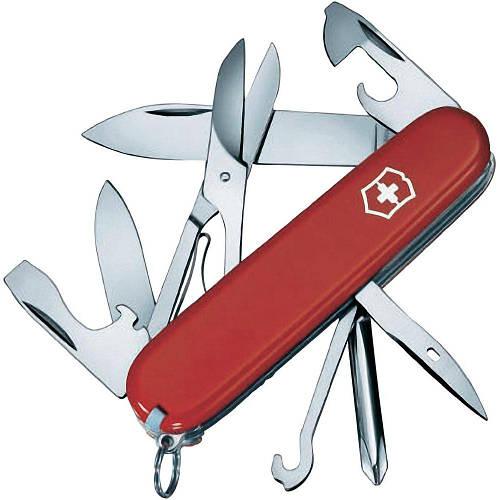 Cкладной прочный нож Victorinox  Super Tinker 14703 красный
