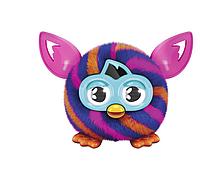 Furby Furbling малыш ферби Orange and Blue Diagonal Stripes