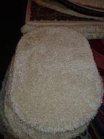 Высоковорсный ковёр First Shaggy 1000 однотонный кремовый