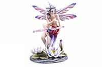 "Статуэтка ""Veronese"" Юная бабочка на листке"