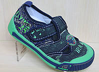 Детские кеды на мальчика, текстильные туфли тм Super Gear р.20
