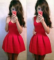 Бандажное женское платье (расцветки)