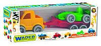 Игрушечная машинка Kid Cars Sport авто с прицепом