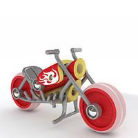 Игрушка E-Chopper, мотоцикл бамбуковый