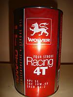 Четырехтактное моторное масло Wolver  4T (1 литр)