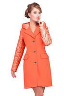 Молодежное кашемировое пальто из кашемира