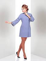 Красивое женское пальто  кашемировое стильного кроя