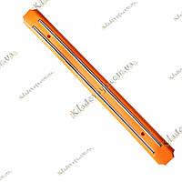 Магнитный держатель для ножей и инструментов 49 см (оранжевый)
