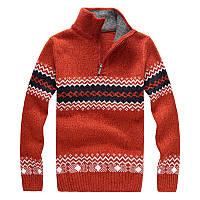 Теплый мужской свитер высокого качества
