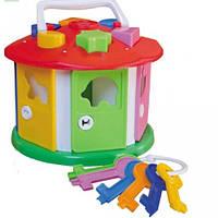 Куб розумний малюк сортер логика с ключами