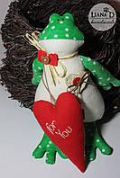 Tilda Лягушка с сердечком